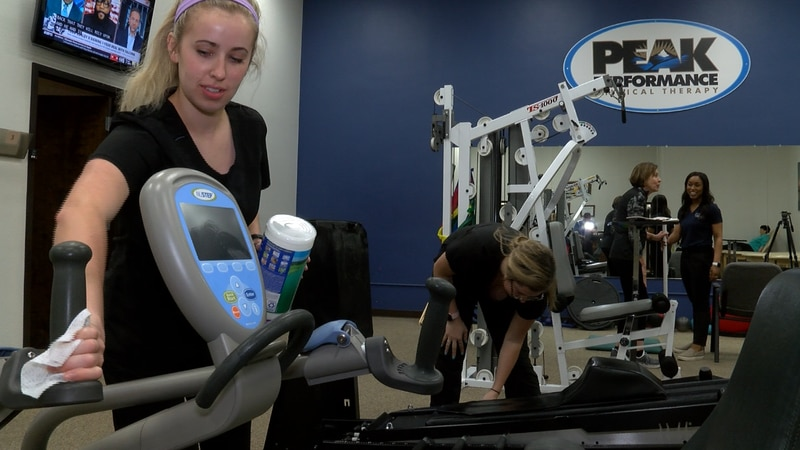 Physical therapists at Peak Performance Physical Therapy are doing everything they can to...