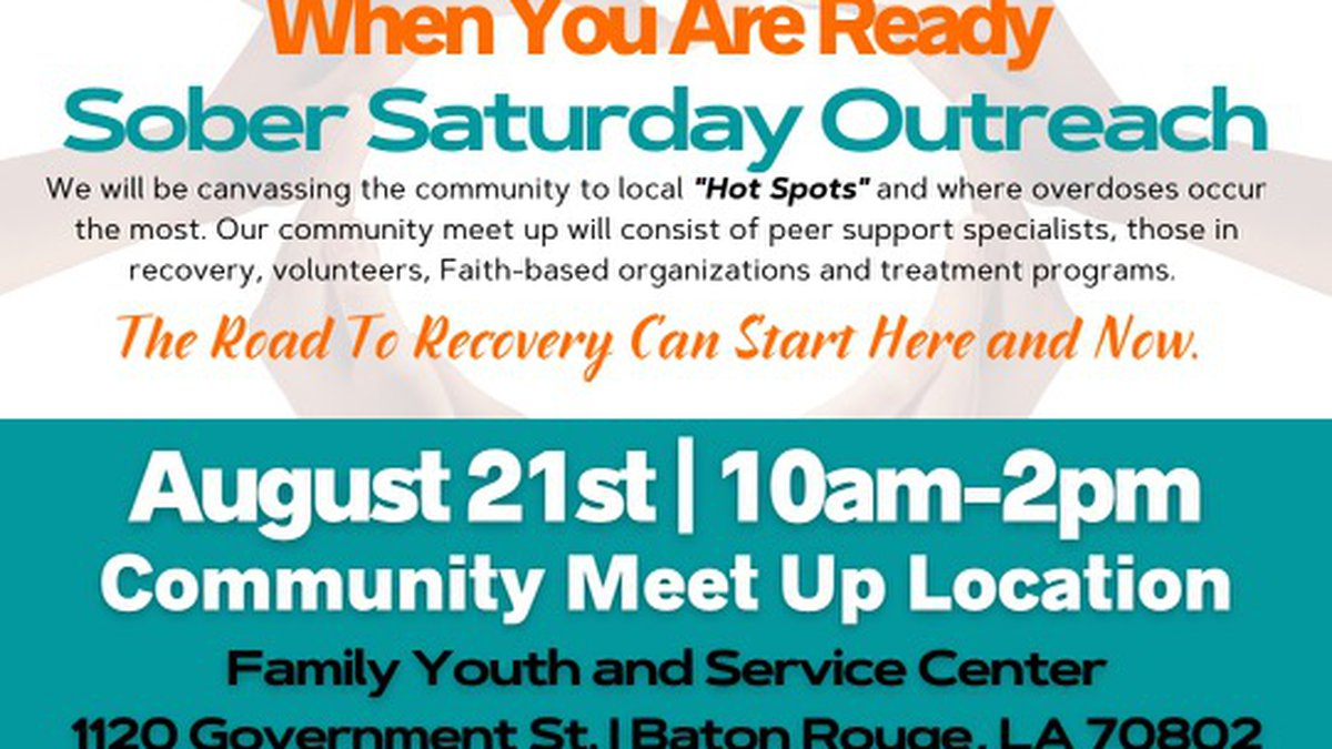 """Capital region organizations start """"When You Are Ready"""" campaign to put an end to the substance..."""