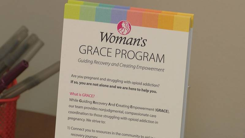 Are you pregnant and struggling with opioid addiction? If so, you are not alone and the GRACE...