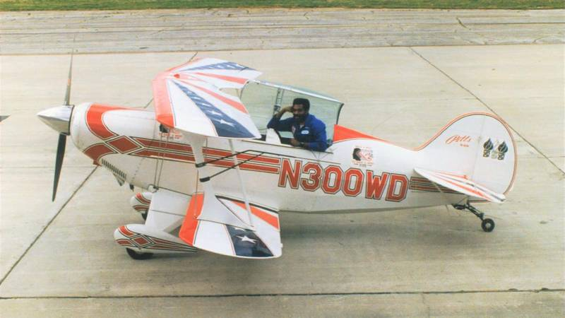 This file photo provided by NOLA.com shows Franklin Augustus and his Pitts Special Plane.