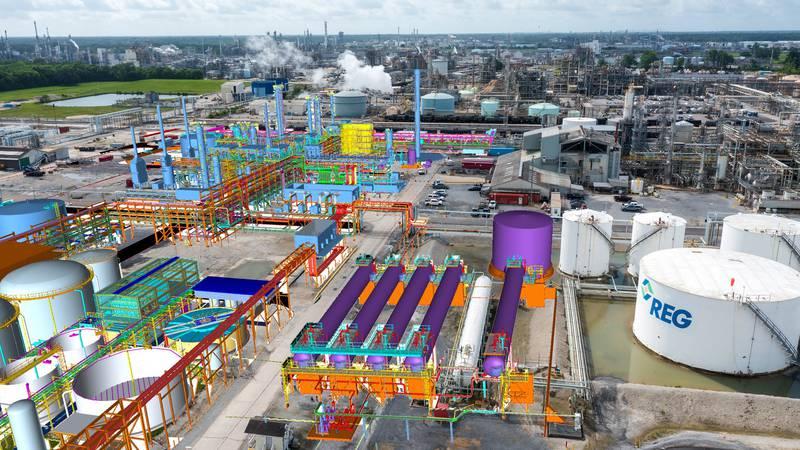 Renewable Energy Group breaks ground on $950 million dollar expansion on renewable diesel plant