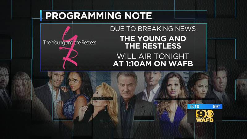 Impeachment hearings change time when Young & Restless episode will air