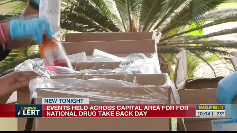 Events held across Capital Area for National Drug Take Back Day