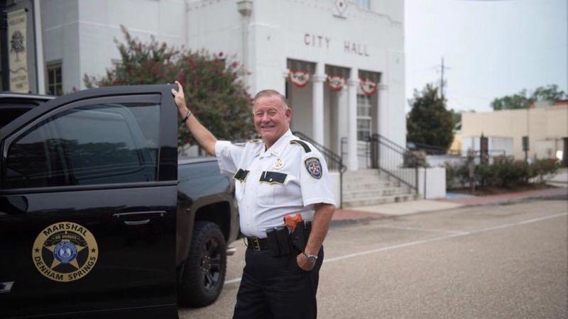 Denham Springs Marshal Joe Shumate