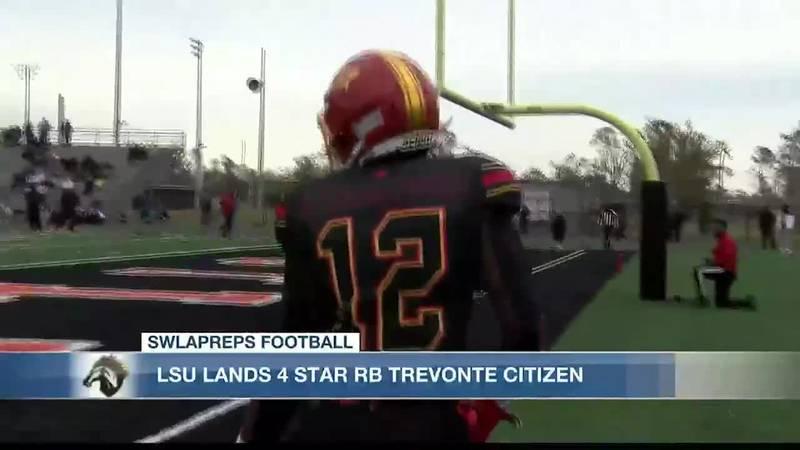TreVonte Citizen commits to LSU