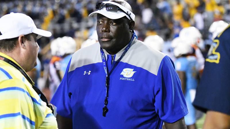 Southern University head coach Dawson Odums