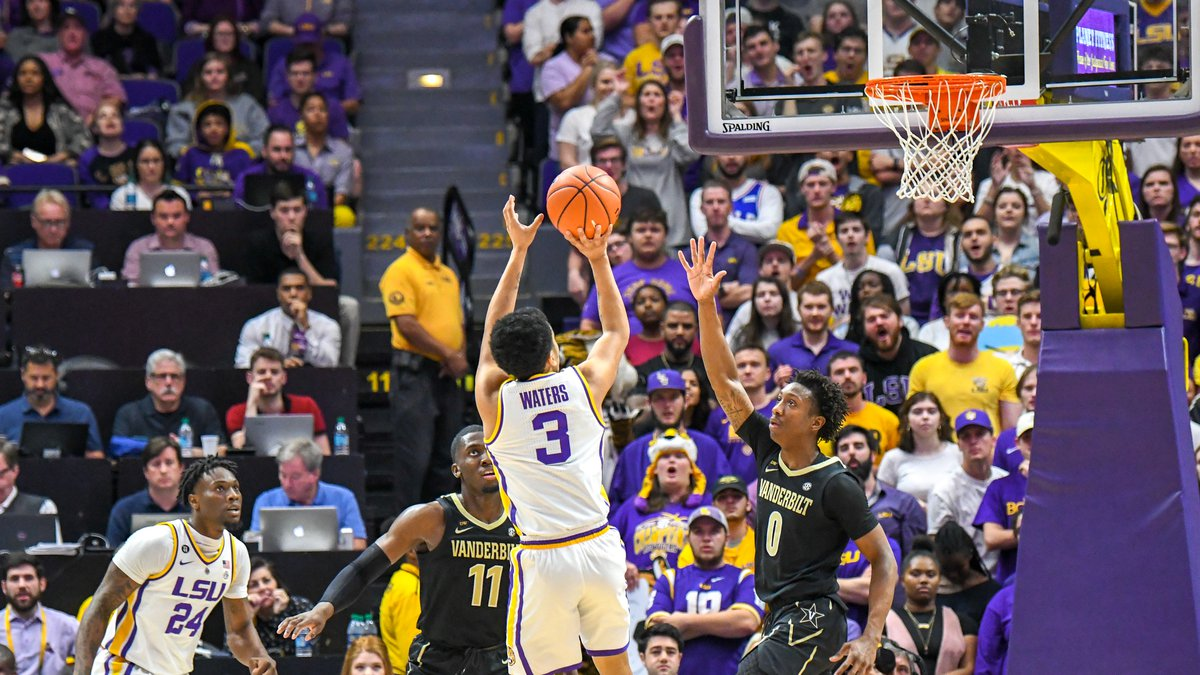LSU guard Tremont Waters