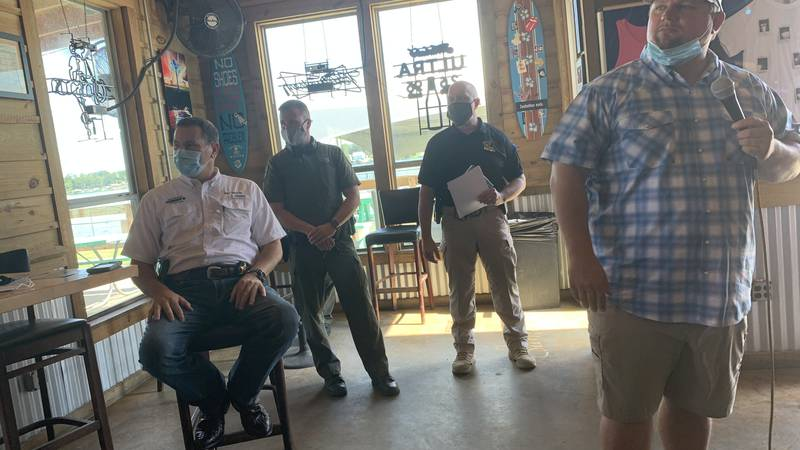 Residents voiced concerns at a community meeting held on Saturday, August 14 in Pointe Coupee...