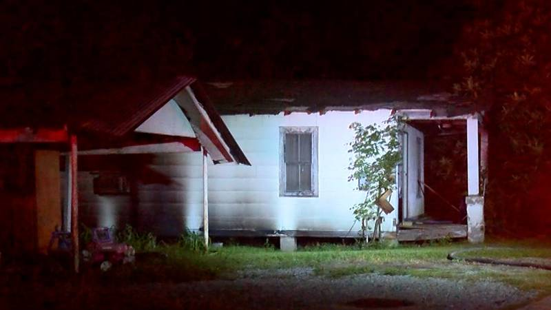 A fire at a vacant house on Lettsworth Street in Baton Rouge on Monday, July 26, 2021, has been...