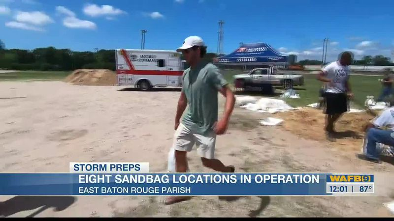 Here's where to get sandbags around greater Baton Rouge area
