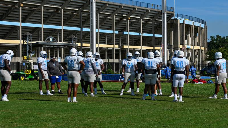 Southern Jaguars Offensive Line