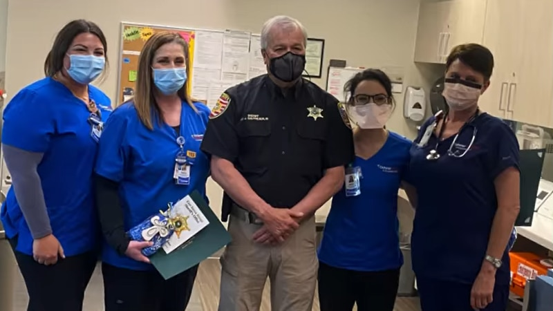 Ochsner Health Care nurses are honored for rendering aid during Aug. 1 shooting in Baton Rouge.