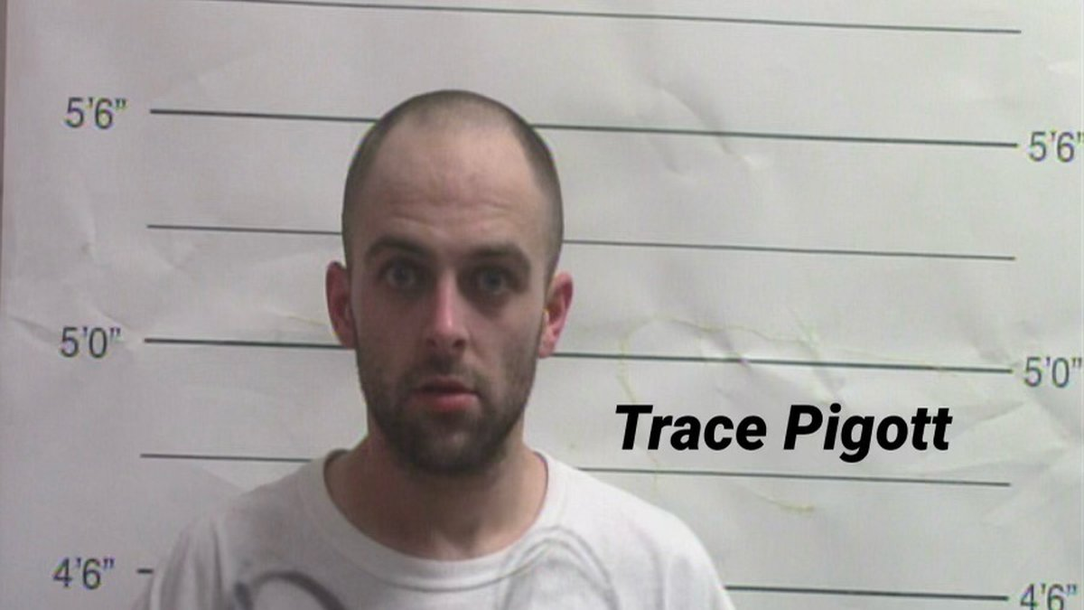 Trace Pigott is in NOPD custody