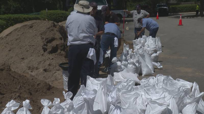 In East Baton Rouge Parish, city officials and people are making final preparations before Ida...