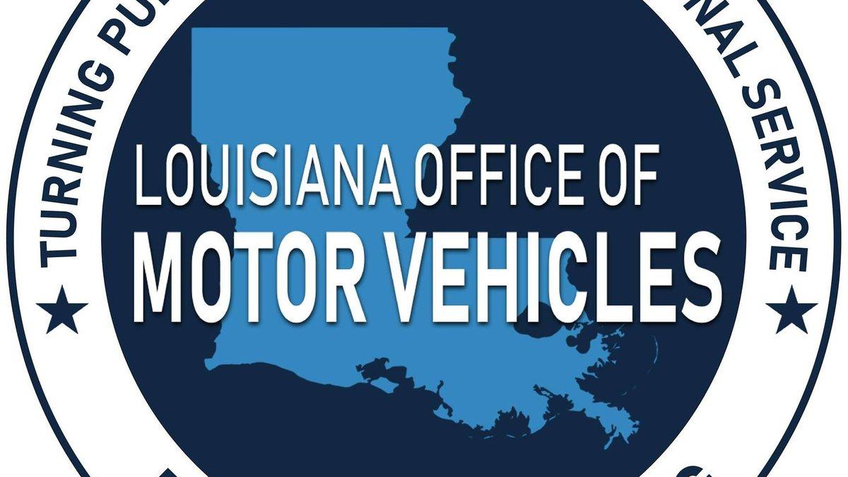 Louisiana OMV generic image.