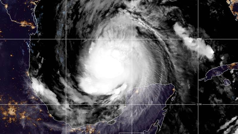Forecasters say Hurricane Delta should make landfall in the state sometime Friday and could...