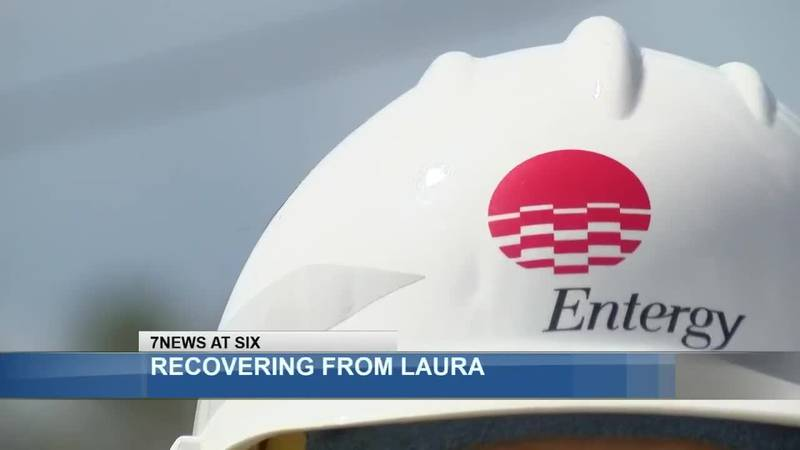 Entergy Louisiana contracted companies to help with the restoration effort, making it the...