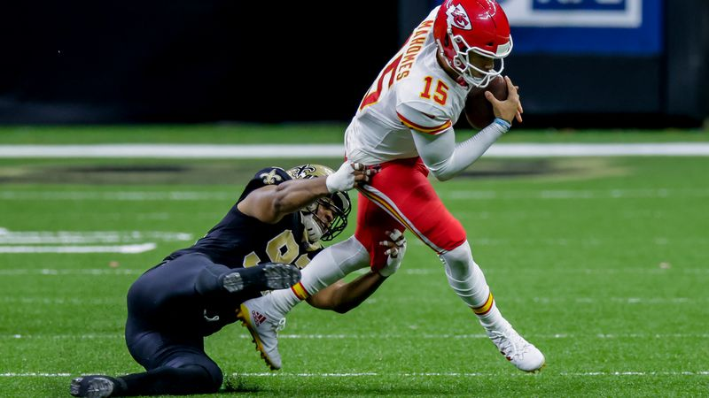 NEW ORLEANS, LA - DECEMBER 20:   on December 20, 2020 at the Mercedes-Benz Superdome in New...