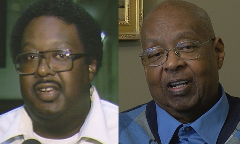Then and Now: Coach Robert Grace, 1985 (from WAFB archives) and 2019