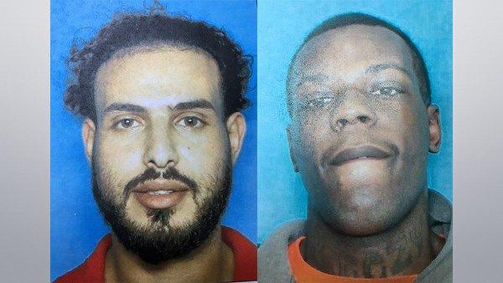 Muhammad Hussain, 29, and Dedrick Williams, 23 (Source: St. Helena Parish Sheriff's Office)