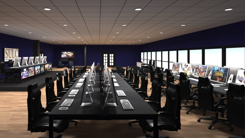 SULC has partnered with Esport Supply to construct an esports lab where students can compete,...