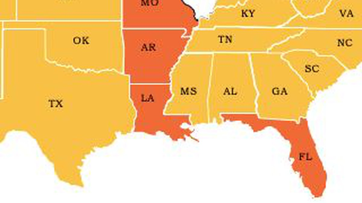Chicago has restricted travel to six states, including Louisiana, due to the increase of...