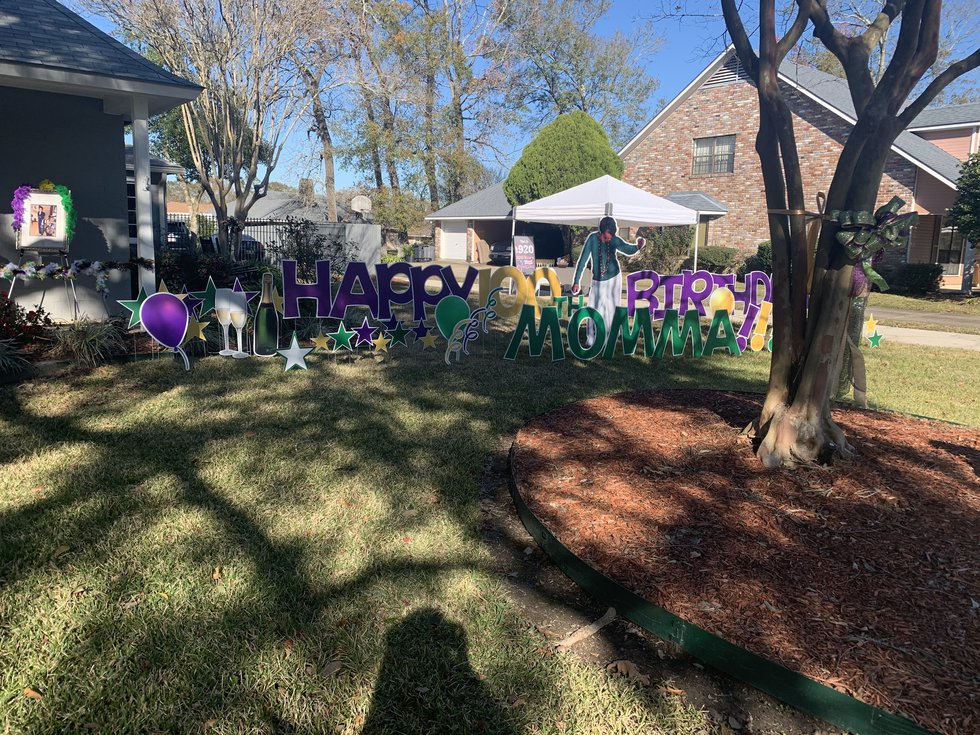 Jacqueline Rice's family goes all out for 100th birthday