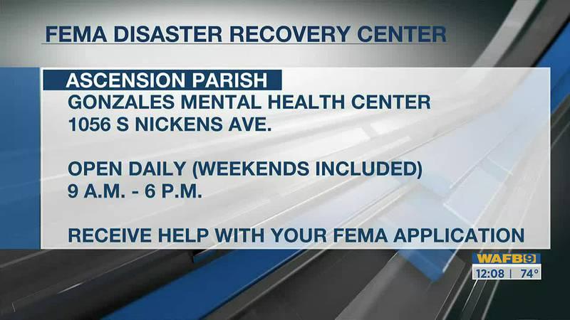 Ascension Parish FEMA Recovery center