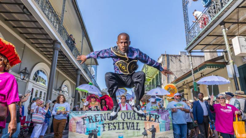 Organizers for French Quarter Fest, billed as the world's largest showcase of Louisiana music,...
