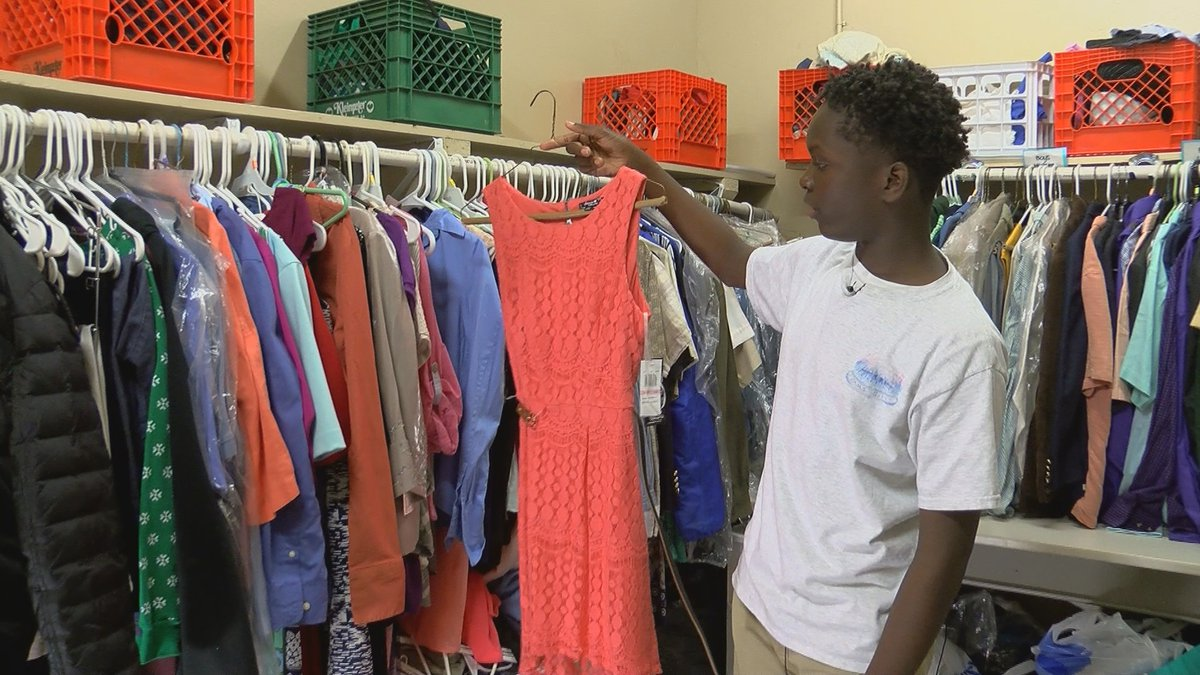 PAM's Pantry provides clothing for kids in need.
