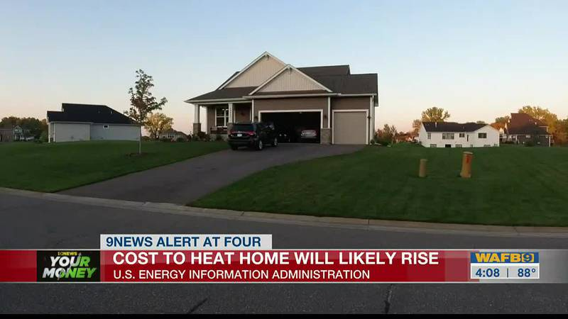 Cost to heat home will likely to rise