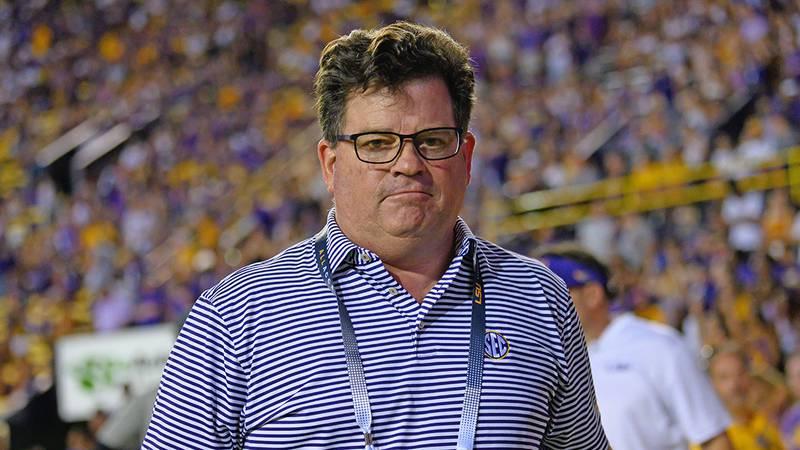 LSU athletic director Scott Woodward