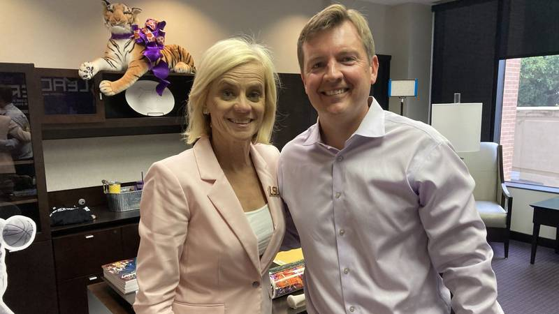 Kim Mulkey speaks to Jacques Doucet for the latest episode of the Jacques Talk podcast.
