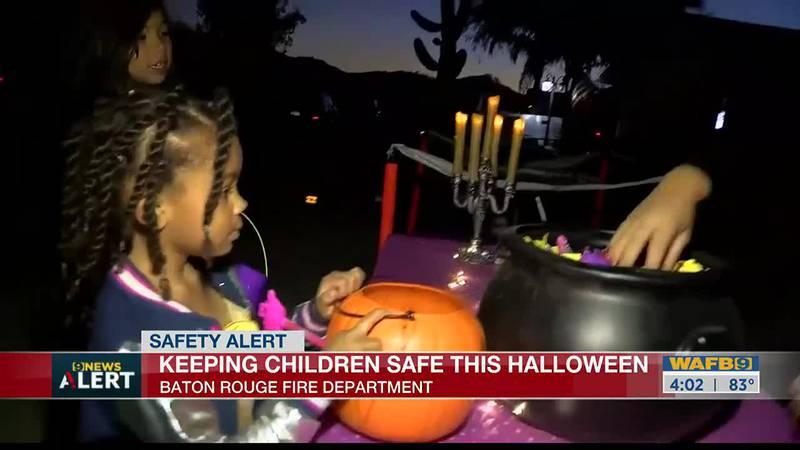 Tips to keep kids safe this Halloween
