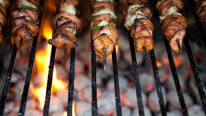 Clean off the grill before rushing off to buy a new one this spring. (Source: file photo)