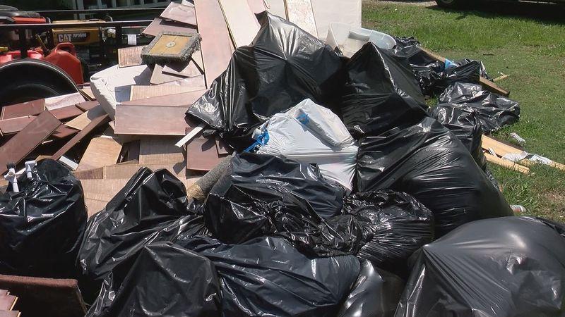 Flood debris pickup in Ascension Parish is scheduled to begin on Wednesday, June 16, 2021.