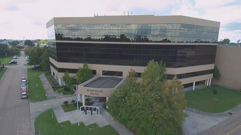 WAFB file photo of Baton Rouge Police Department headquarters on US 61 (Airline Highway) in...