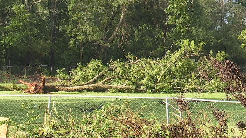 St. Helena Parish still largely in the dark; shelters and PODs set up to help residents