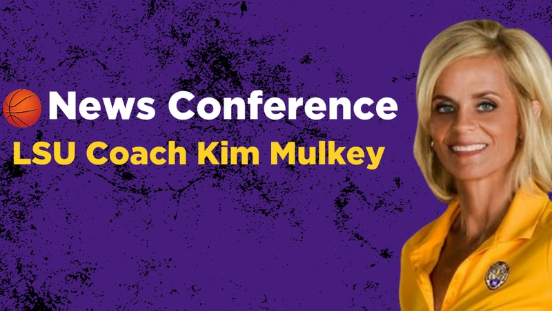 LSU women's basketball head coach Kim Mulkey will hold a news conference at 1 p.m. Thursday,...