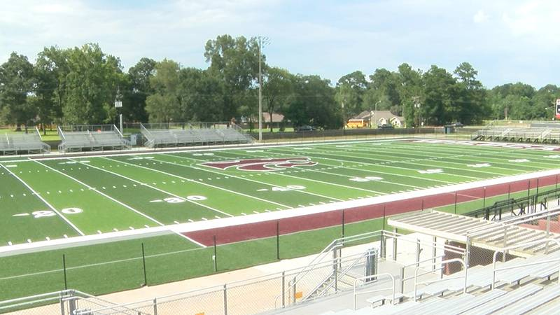 Central High has a new turf field for football.