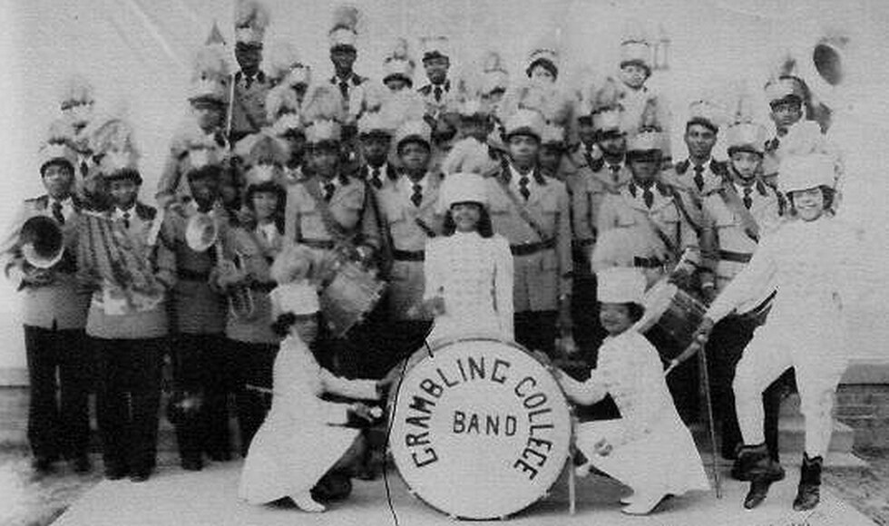 Velma Patricia Patterson served as a drum major at Grambling State University through 1952.