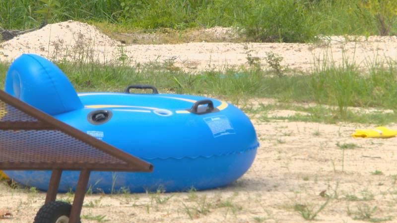 WAFB file photo of a tube at Tiki Tubing in Livingston Parish, La.