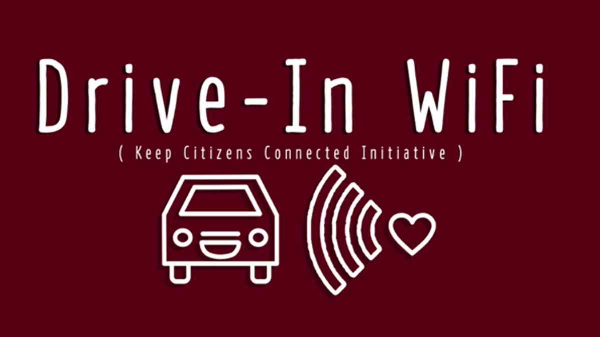 Drive-In Wifi (Keep Citizen Connected Initiative) is an initiative to connect citizens with...