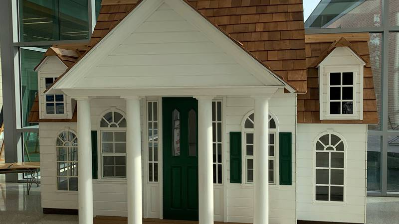 """The """"Magnolia Mansion"""" CASA playhouse is on display until July 25 at the East Baton Rouge..."""