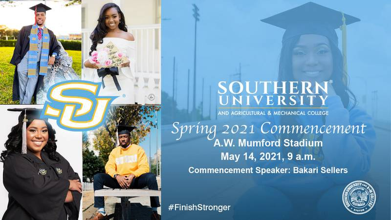 More than 550 students to receive degrees at in-person ceremony at Mumford Stadium