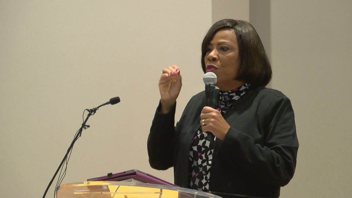 Mayor-President Sharon Weston Broome discusses options to bring more business and economic...
