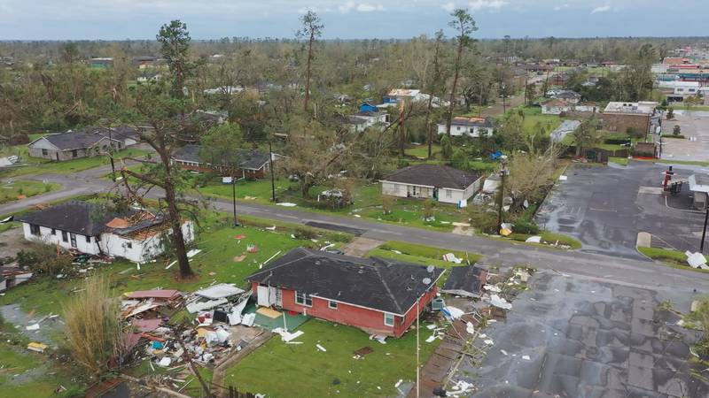 Hurricane Laura Lake Charles