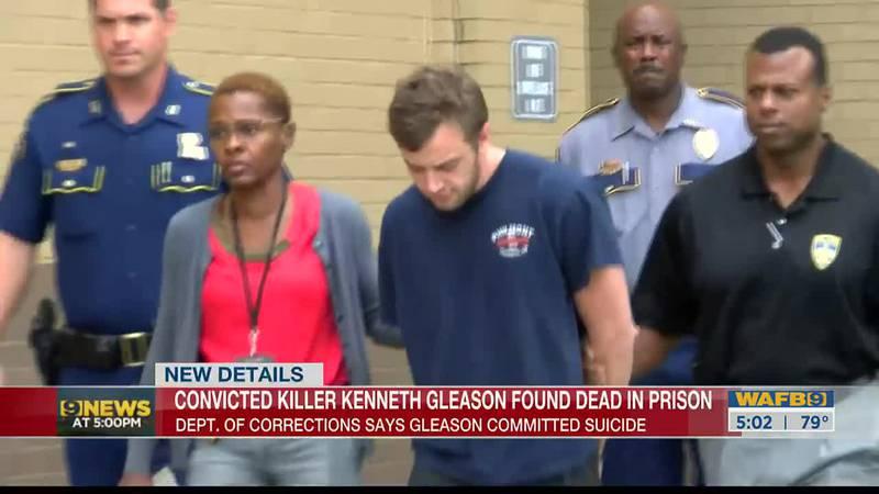 Kenneth Gleason found dead in prison