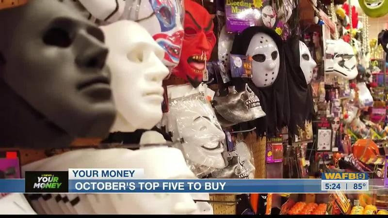 YOUR MONEY: October's Top Five To Buy