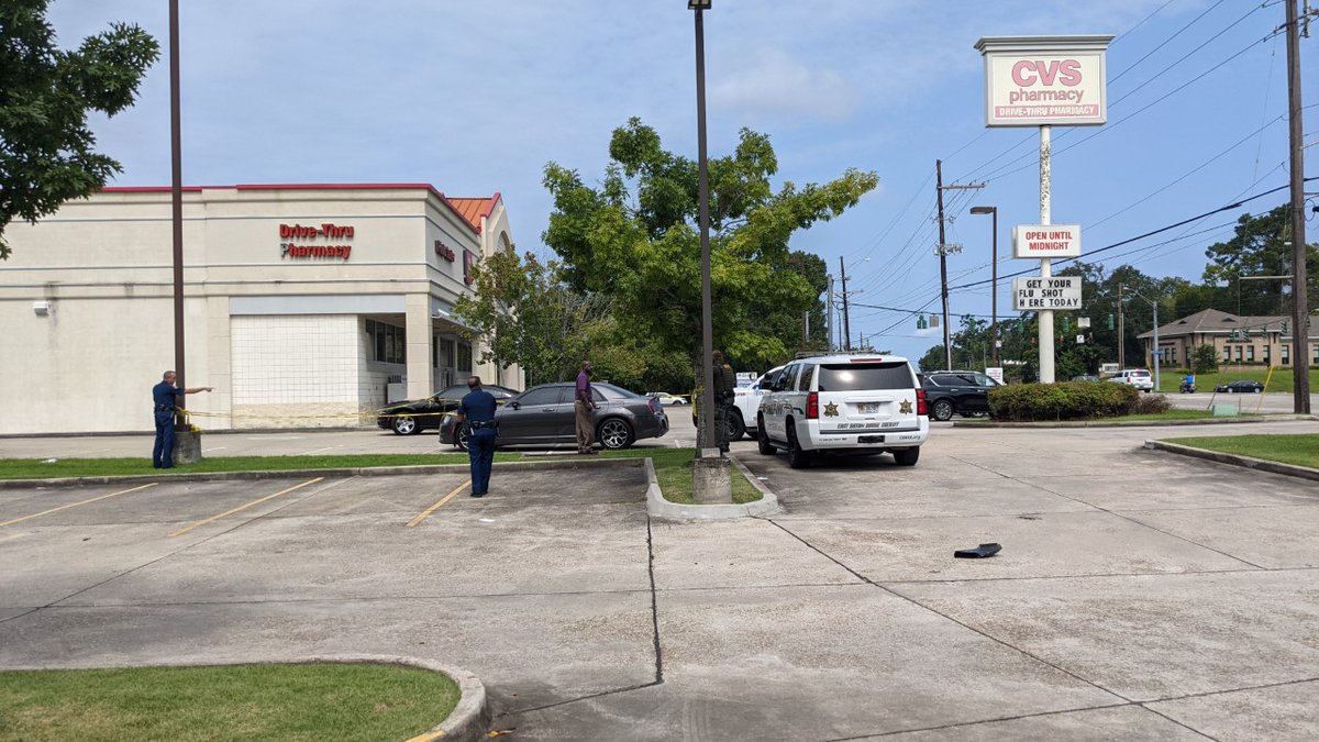 The chase ended near the CVS pharmacy on Jefferson at Bluebonnet where the suspect was shot.